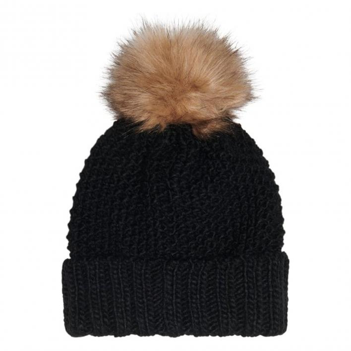 ONLY KIDS ISABELLA KNIT POMPOM BEANIE
