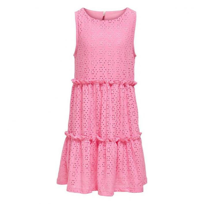 ONLY KIDS LINA ARMELLOSES RUNDHALS KLEID JRS