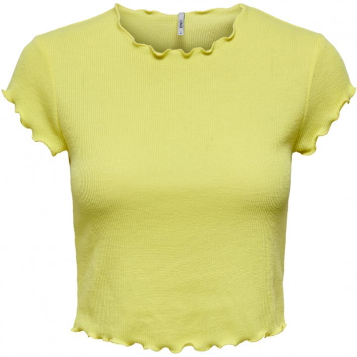 ONLY KITTY S/S SHORT TOP JRS