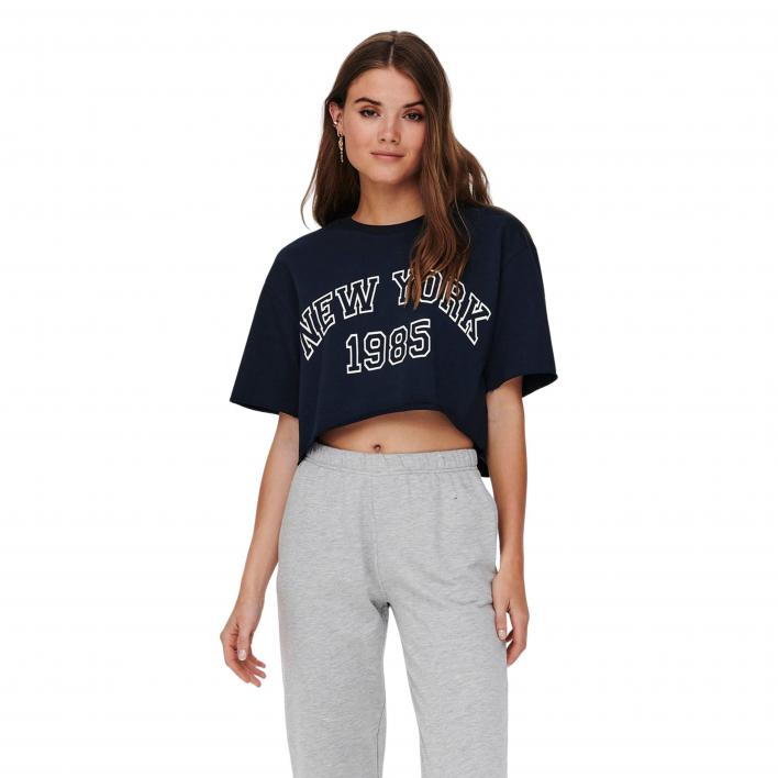 ONLY LAURA 2/4 CROPPED SWEAT JRS