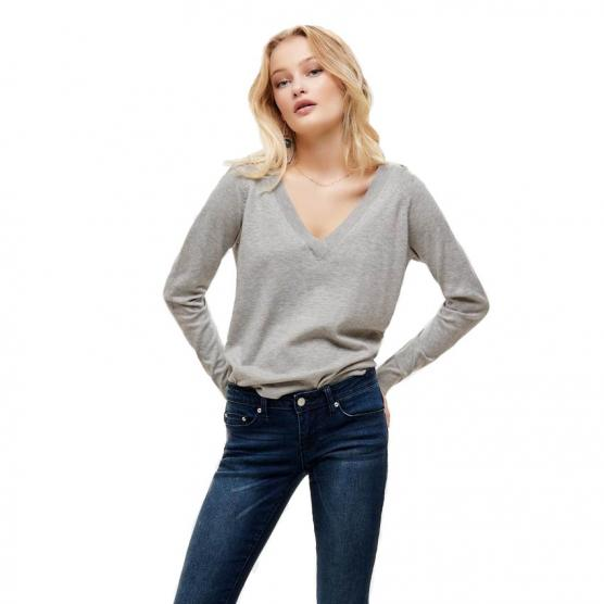 ONLY LAURA L/S V-NECK PULLOVER CC KNT