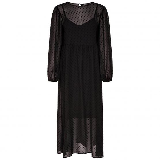 ONLY MAIA L/S BALLOON MAXI DRESS