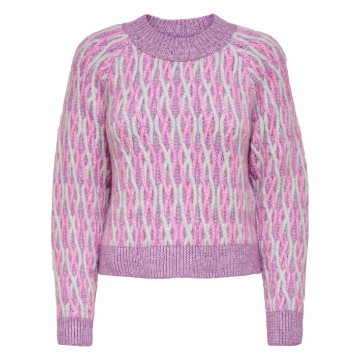 ONLY MELLIE L/S O-NECK PULLOVER KNT