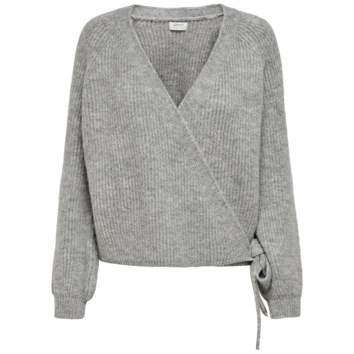 ONLY MIA L/S WRAP CARDIGAN KNT NOOS
