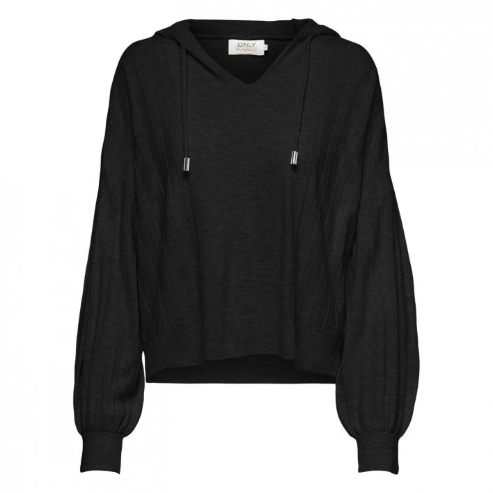 ONLY NEW TESSA L/S HOOD PULLOVER KNT
