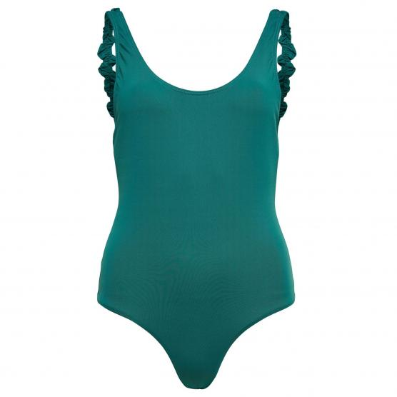 Image of only nicole frill swimsuit acc