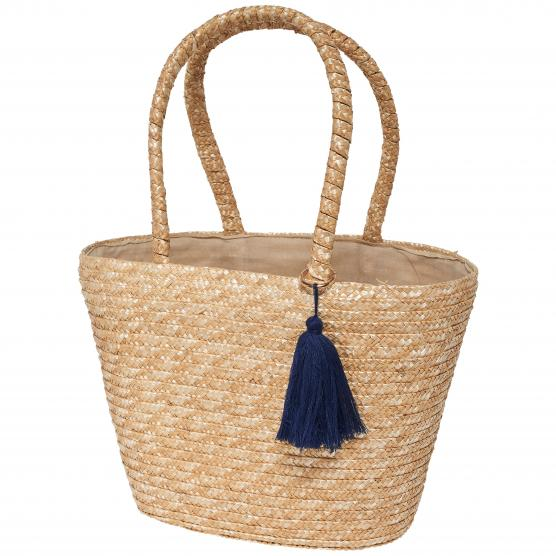 ONLY NIF STRAW BEACH BAG ACC NATURAL