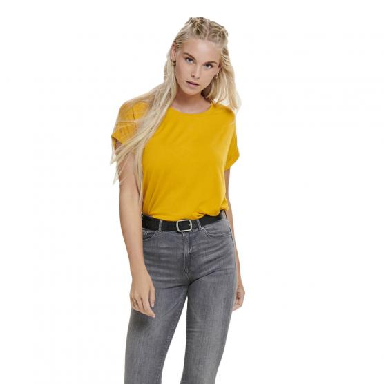 ONLY ONLMOSTER S/S O-NECK TOP NOOS JRS GOLDEN YELLOW