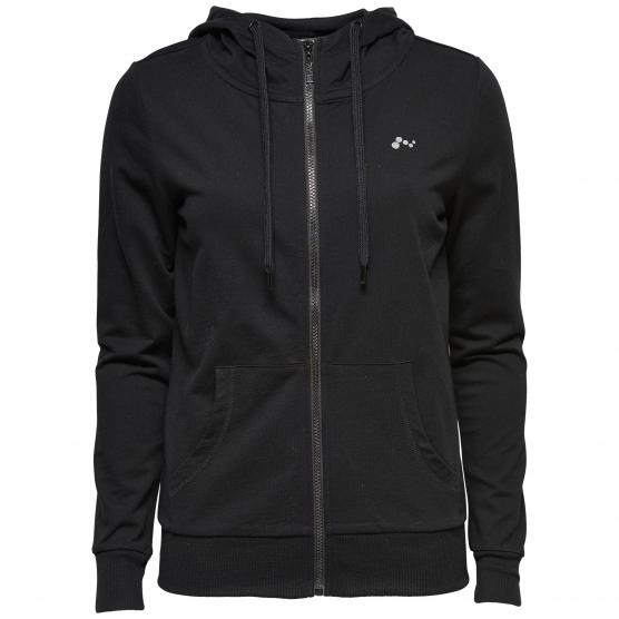 ONLY ONPLINA ZIP HOOD SWEAT - OPUS
