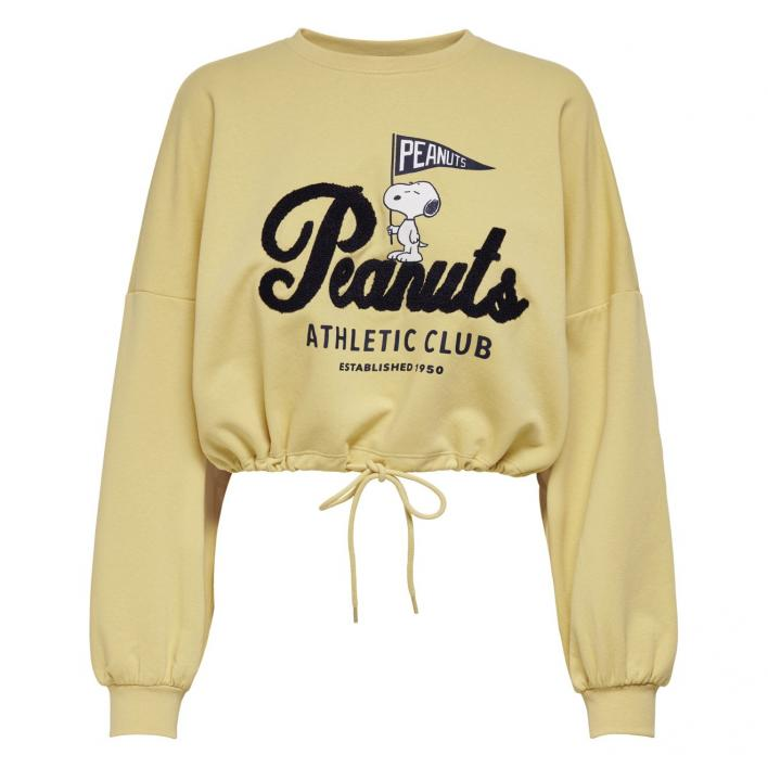 ONLY PEANUTS LIFE L/S TERRY BOX SWT