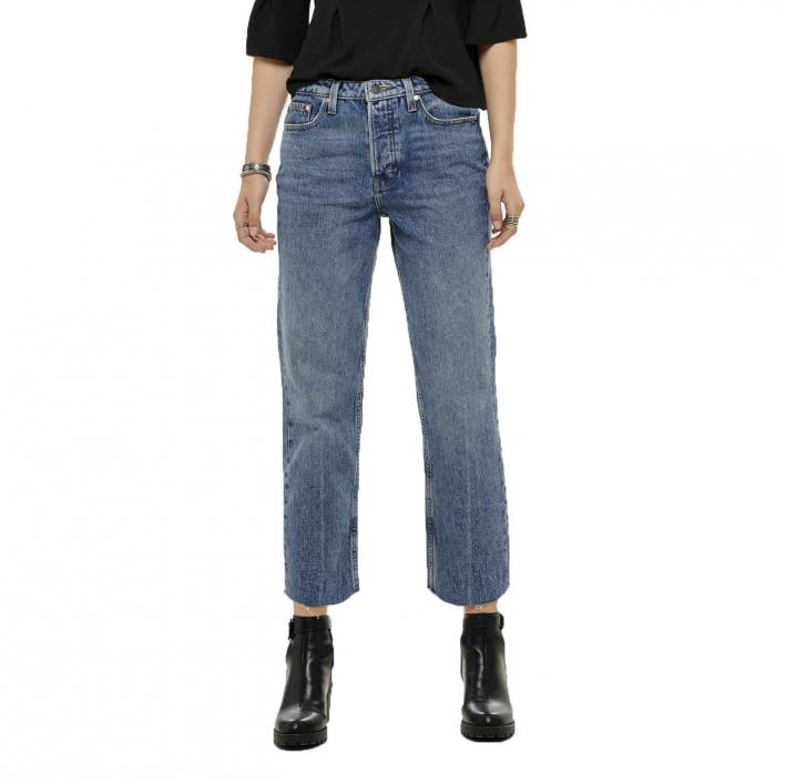 ONLY ROXY HW STRAIGHT DNM JEANS CRE