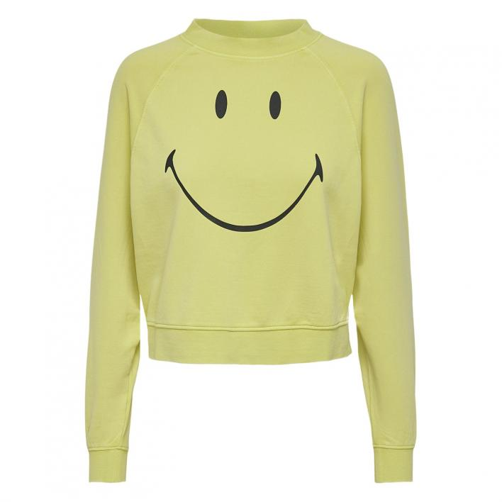 ONLY SMILEY LIFE L/S SWT