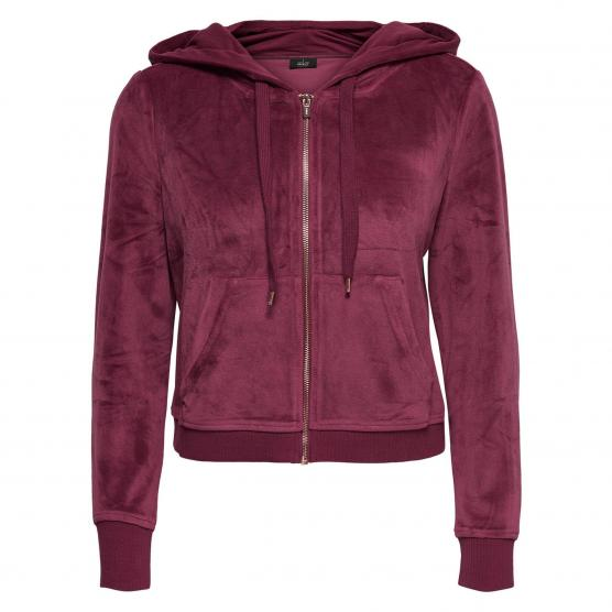 ONLY THEA L/S ZIP HOOD CC SWT