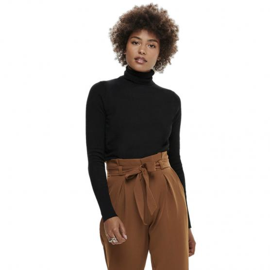 ONLY VENICE L/S ROLLNECK PULLOVER KNT NOOS