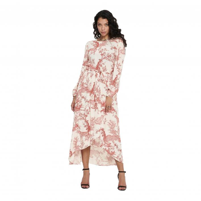 ONLY VIKA L / S LONG DRESS WVN