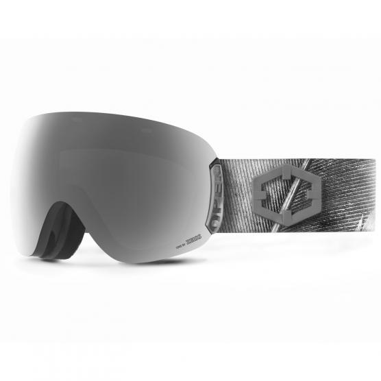 OUT OF SKI GOGGLES FEATHER LENS SILVER