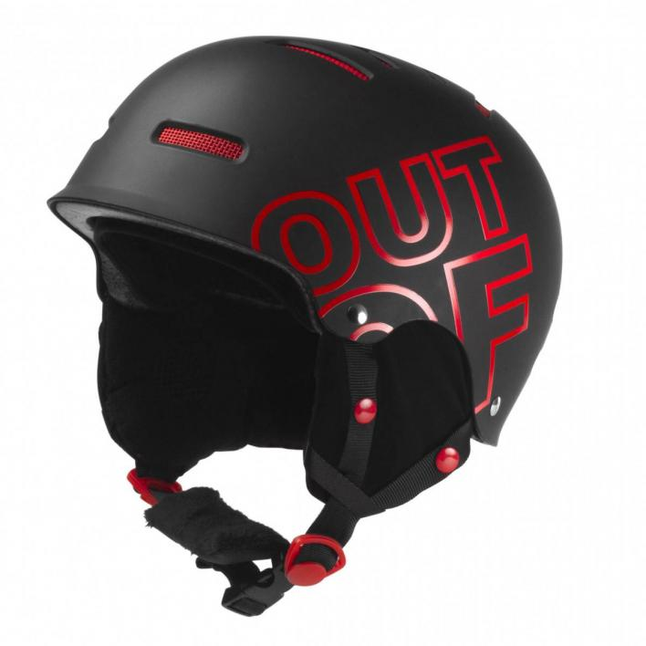 OUT OFF WIPEOUT BLACK RED