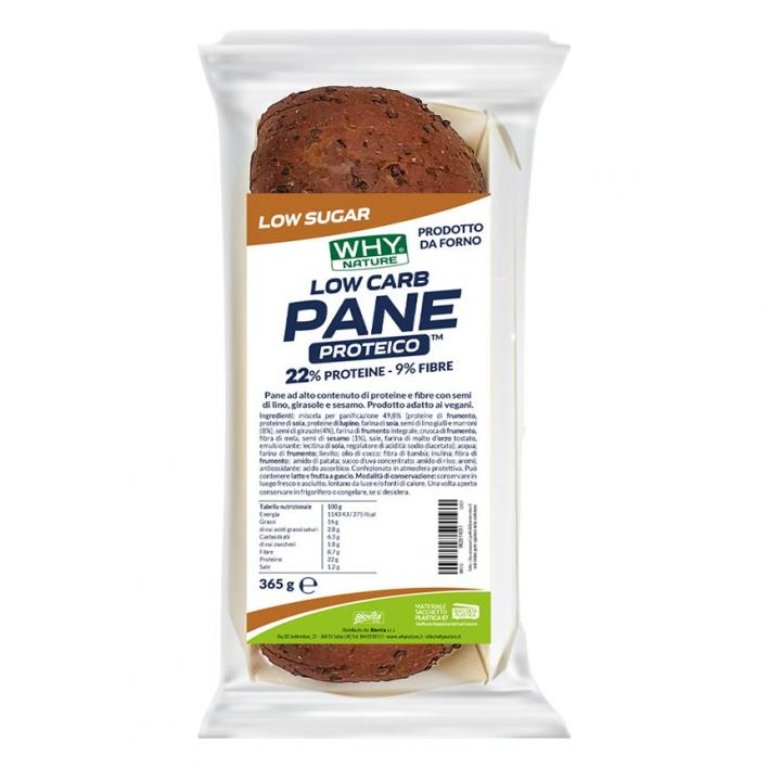 WHYSPORT PROTEIN BREAD LOW CARB 365G