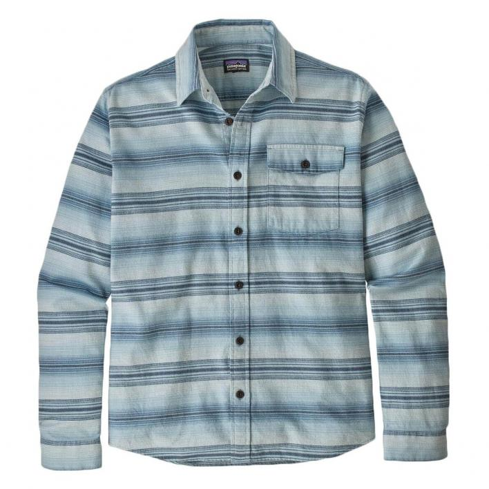 PATAGONIA M LONG-LIGHTWEIGHT  FJORD FLANNEL SHIRT