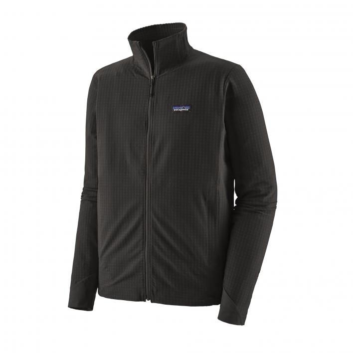 PATAGONIA M'S R1 TECHFACE JACKET BLK