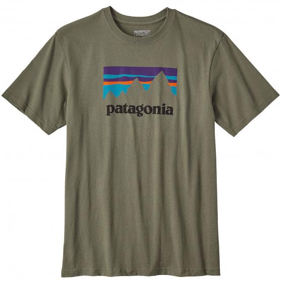 PATAGONIA M'S SHOP STICKER COTTON T-SHIRT