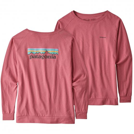 PATAGONIA W'S LONG-SLEEVED PASTEL P-6 LOGO
