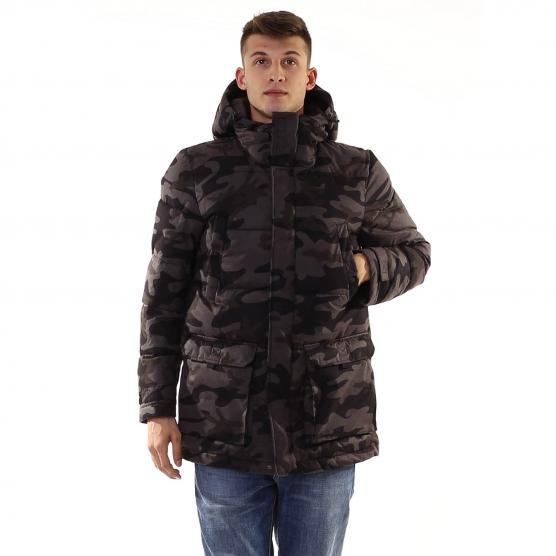 PENN RICH BRUSHED CAMOU PARKA