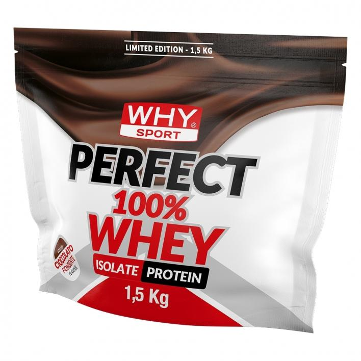 why sport PERFECT 100% WHEY KAKAO BEUTEL 1.5KG