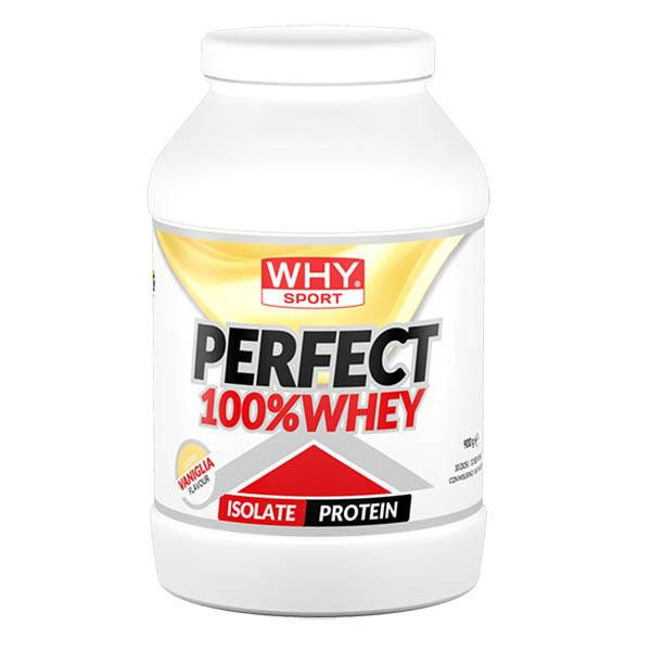 WHY SPORT Perfect 100% Whey Vaniglia 900g