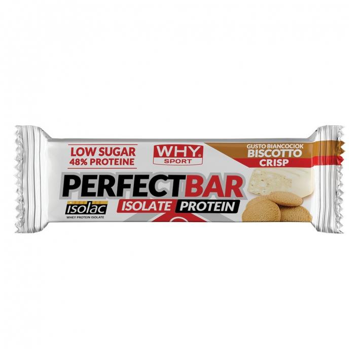 WHY SPORT Perfect Bar Weissschokolade Knusprig 50g