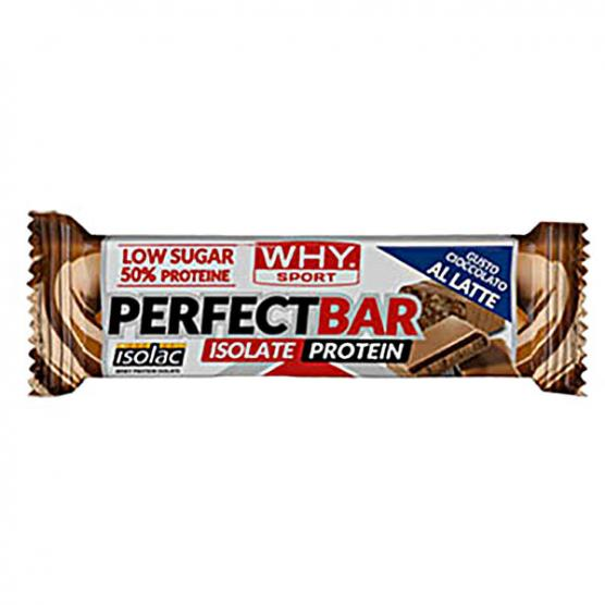WHY SPORT Perfect Bar Milk Choco 50g