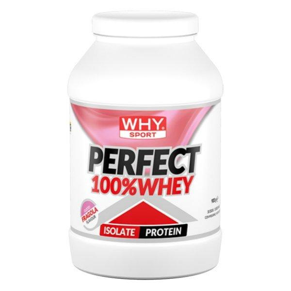 WHYSPORT Perfect Whey 100% 900g Erdbeere