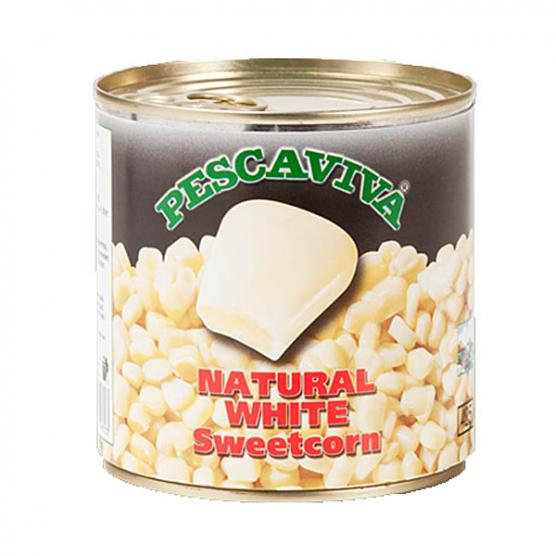 PESCAVIVA NATURAL WHITE CORN