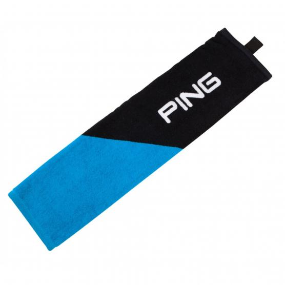 PING TRI FOLD TOWEL LIGHT BLUE