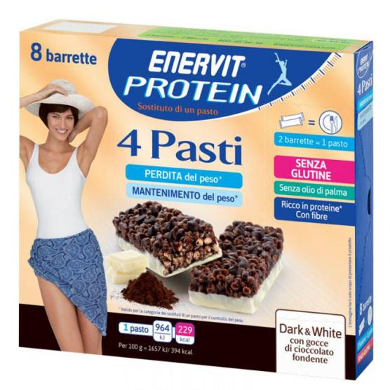ENERVIT PROTEIN Meal Replacement Dark&White