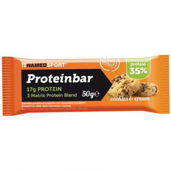 NAMEDSPORT Proteinbar Cookies Cream 50g