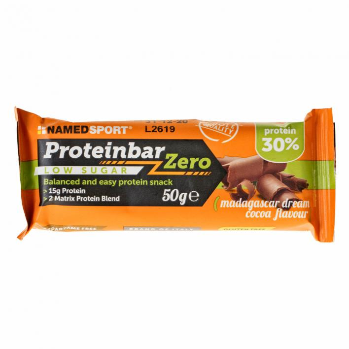 NAMEDSPORT ProteinBar Zero Madagascar Dream