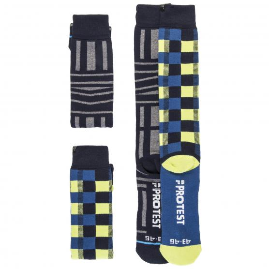PROTEST GRAPHIC SOCKS DUO PACK