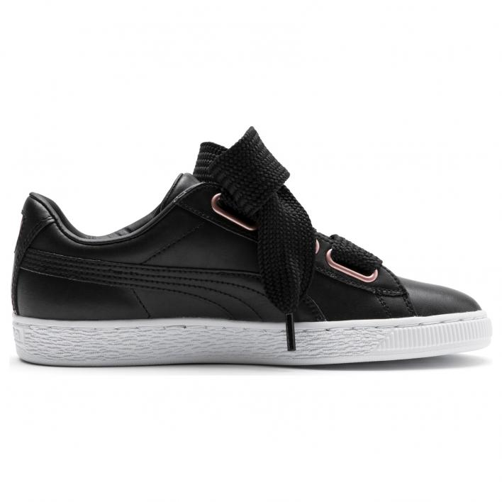 PUMA BASKET HEART LEATHER WMS