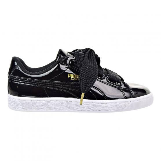 PUMA BASKET HEART PATENT WN'S 01 PUMA BLACK