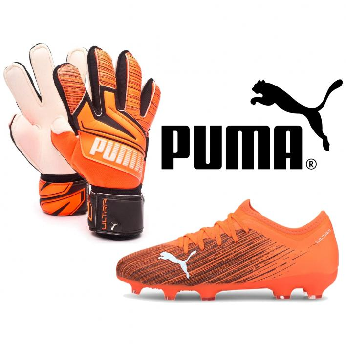 PUMA ORANGE NUMBER ONE JUNIOR GK PACK