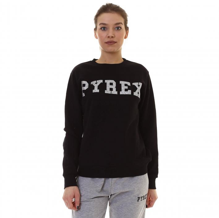 PYREX GLITTERED ROUND NECKED SWEATSHIRT
