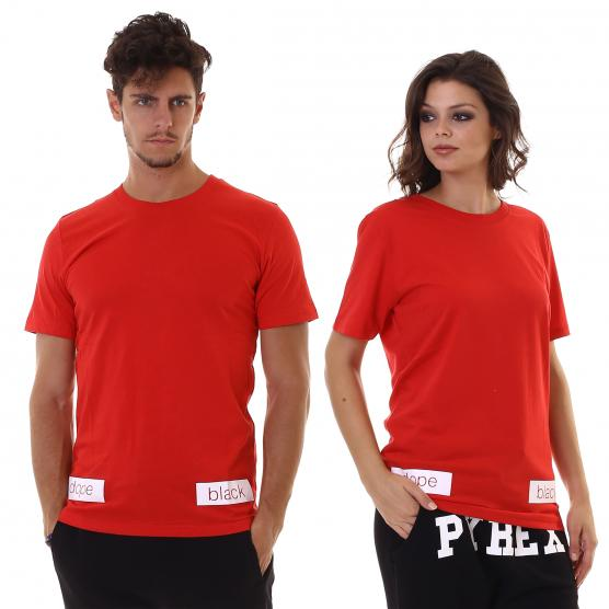 PYREX GIROCOLLO IN JERSEY ROSSO