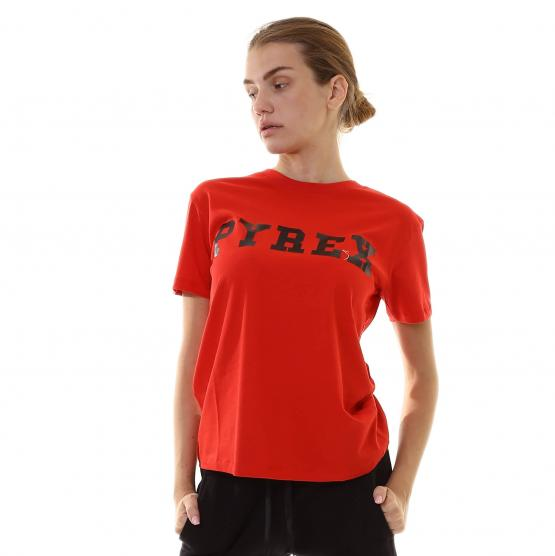 PYREX TEE MM ROSSO