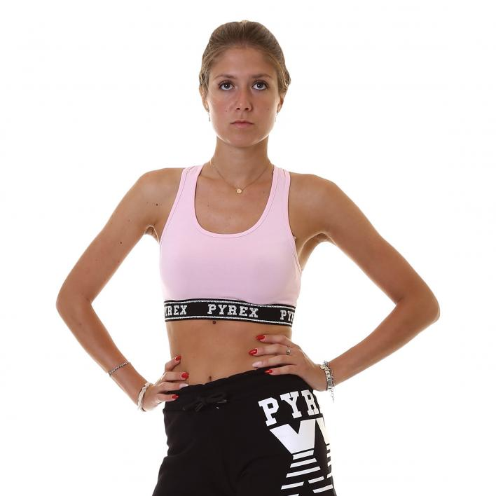 PYREX TOP IN STRETCH JERSEY WOMAN