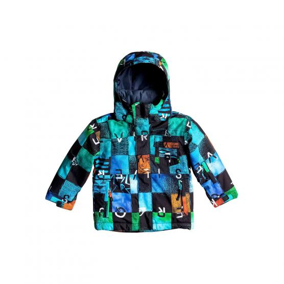 QUIKSILVER KIDS GIACCA SNOWBOARD LITTLE MISSION BYB8