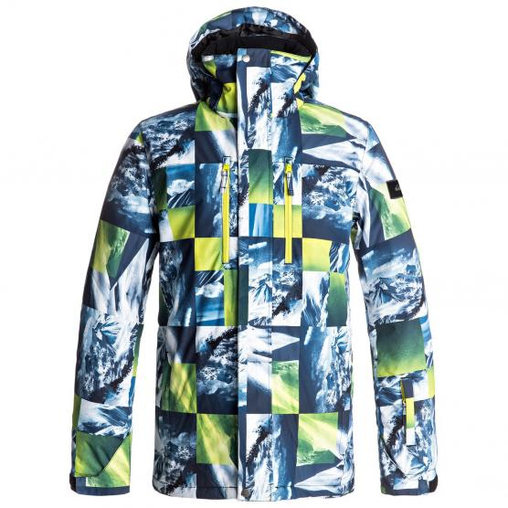 QUIKSILVER MISSION PRINTED JKT