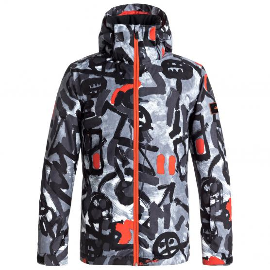 QUIKSILVER MISSION PRINTED YOUTH JKT