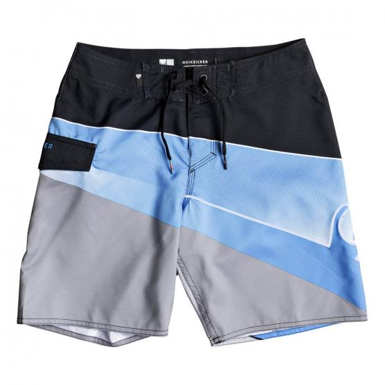 QUIKSILVER SLASH FADE LOGO YOUTH BOARDSHORT