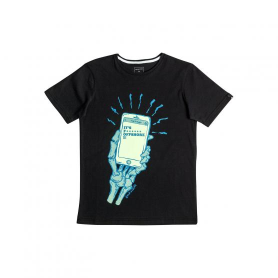 QUIKSILVER SS CLASSIC TEE YOUTH OFFSHORE KVJ0